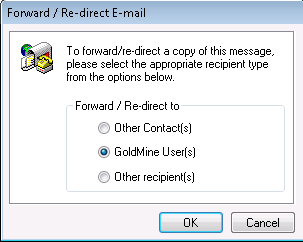 goldmine_crm_forward_email